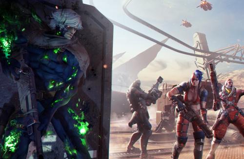 Spacelords Antagonist  Harec Alicia  Hans Lycus Konstantin